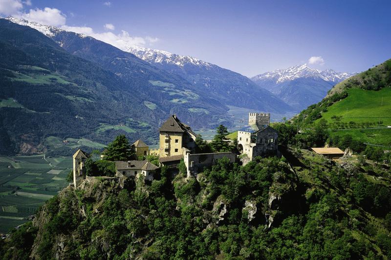 15 Autominuten zum Schloss Juval