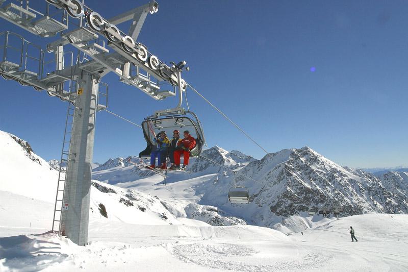 Skilift Schnalstaler Gletscher