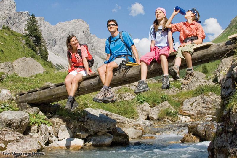 Familienurlaub in der Alpenregion Bludenz