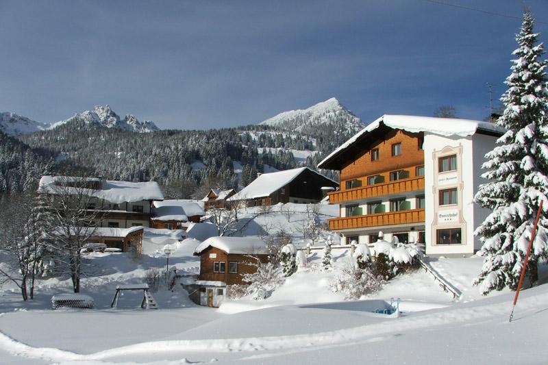 Winterurlaub im Hotel Burtschahof in Bürserberg