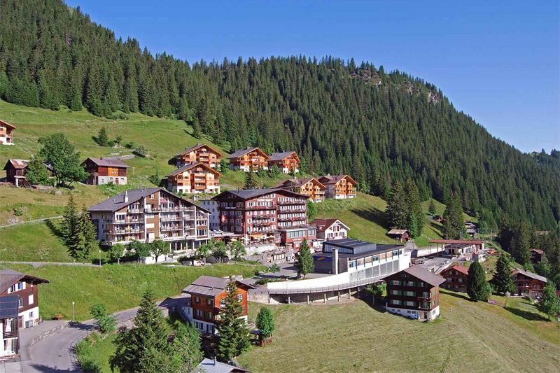 Sommerurlaub im Hotel Eiger Mürren