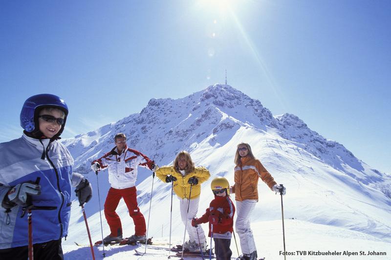 Skifahren am Kitzbüheler Horn