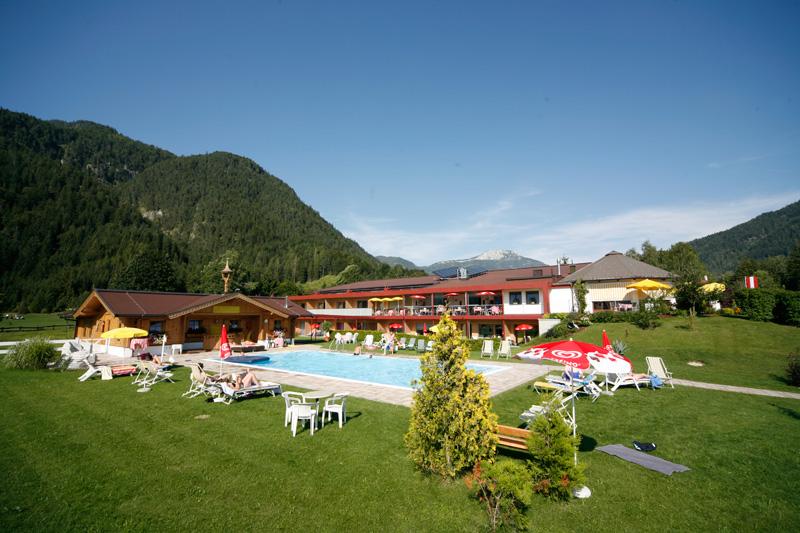 Sommerurlaub im Hotel Gut Hanneshof in den Kitzbüheler Alpen - St. Johann