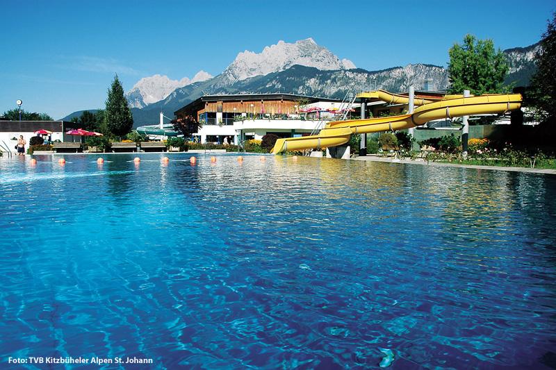 Panorama Badewelt St. Johann in Tirol