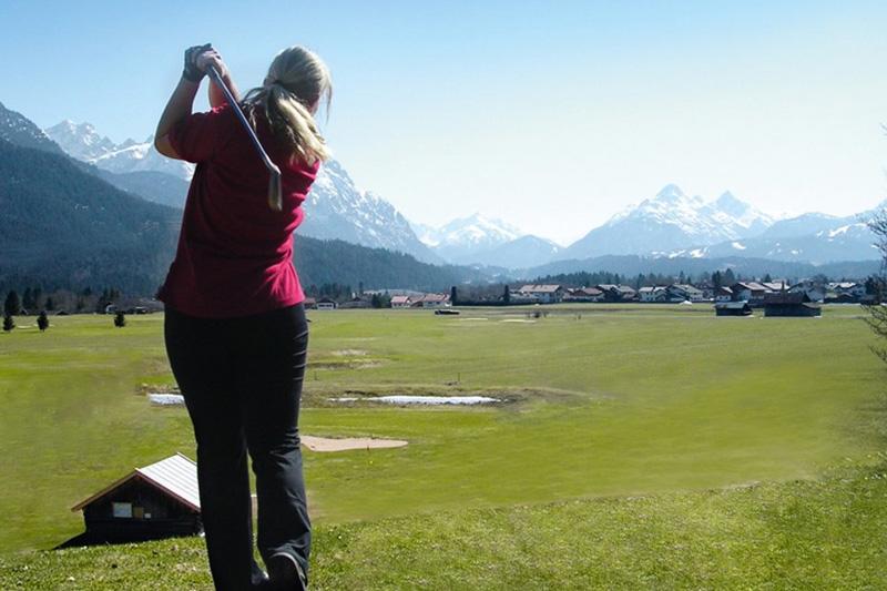 Wallgau ist der Geheimtipp für Golfer