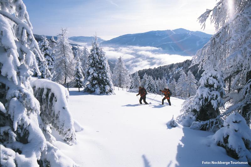 Schneeschuhwanderungen in den Nockbergen