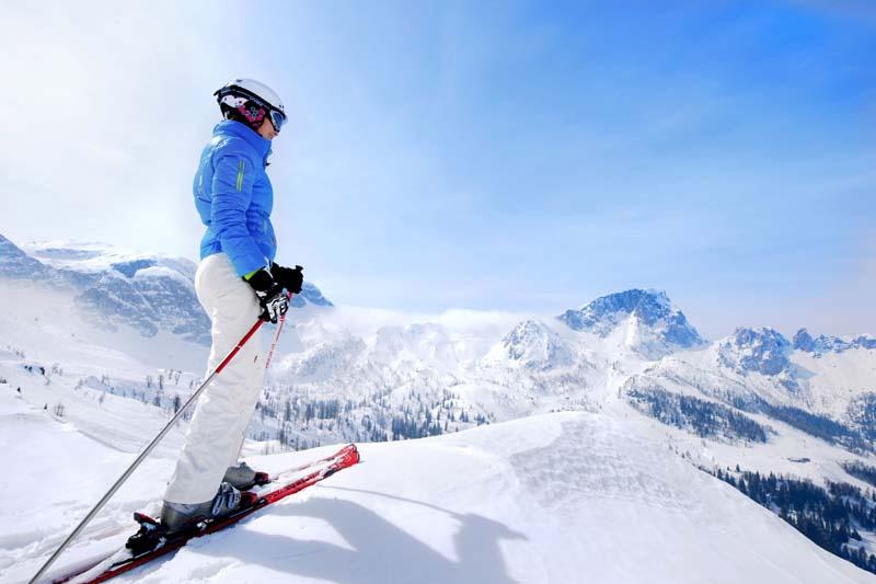 Skigebiet Turracher Höhe auf 1.400 bis 2.200 m