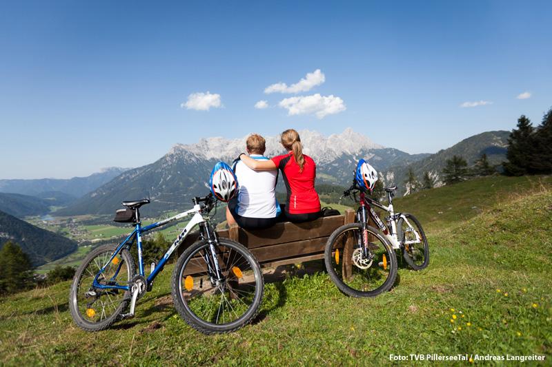 Mountainbike-Erlebnis  Buchensteinwand