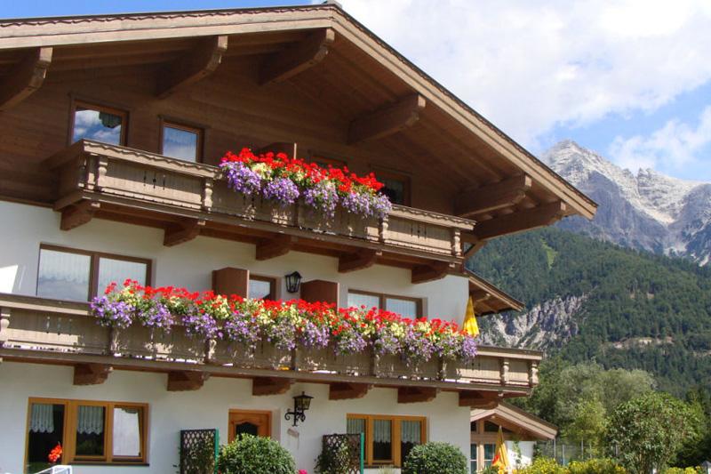 Sommerurlaub im Appartementhaus Schartental in den Kitzbüheler Alpen