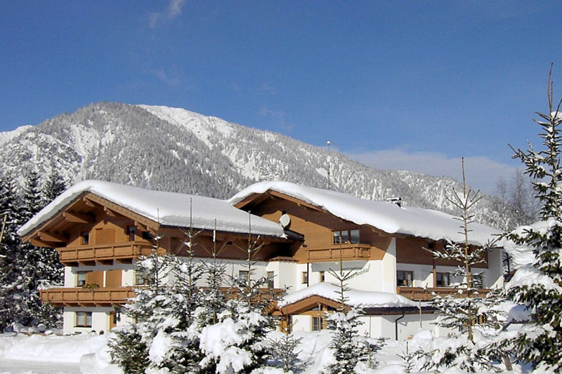 Winterurlaub im Appartementhaus Schartental in den Kitzbüheler Alpen