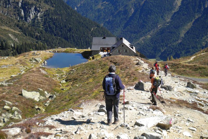 """Das Hotel ist Mitglied der """"Wanderhotels Tirol"""""""