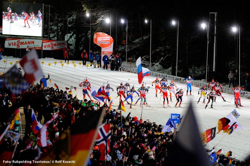 Biathlon in Ruhpolding