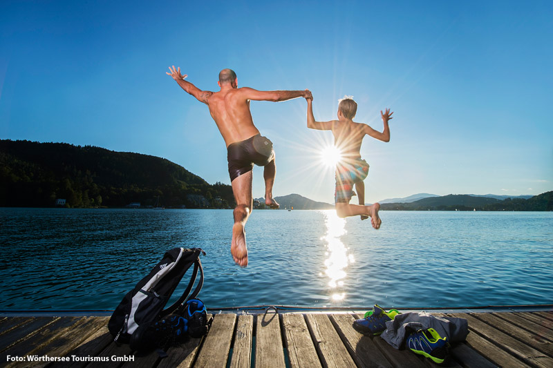 Urlaub am größten Badesee Kärntens