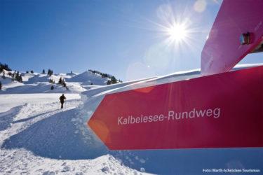 Winterwandern vom Kalbelesee bis Körbersee