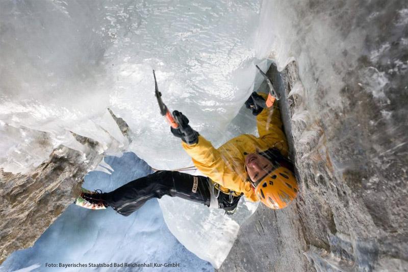 Eisklettern in Berchtesgarden