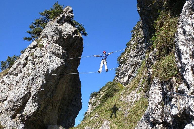 Klettersteig am Walchsee