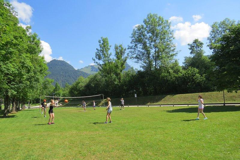 Volleyballplatz SonnenCamping Seespitz