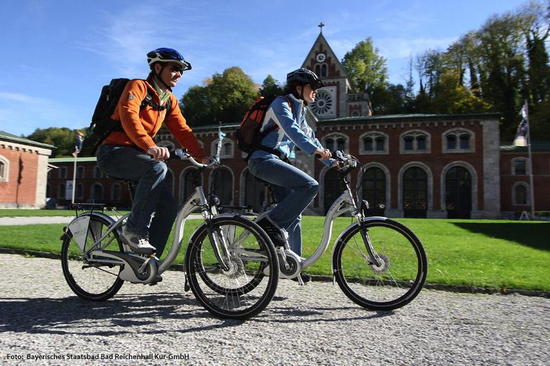 E-Biken in Bad Reichenhall