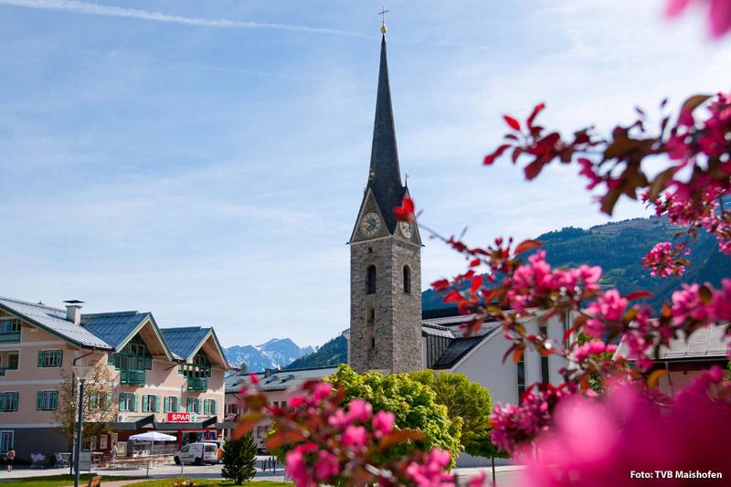 Frühling in Maishofen