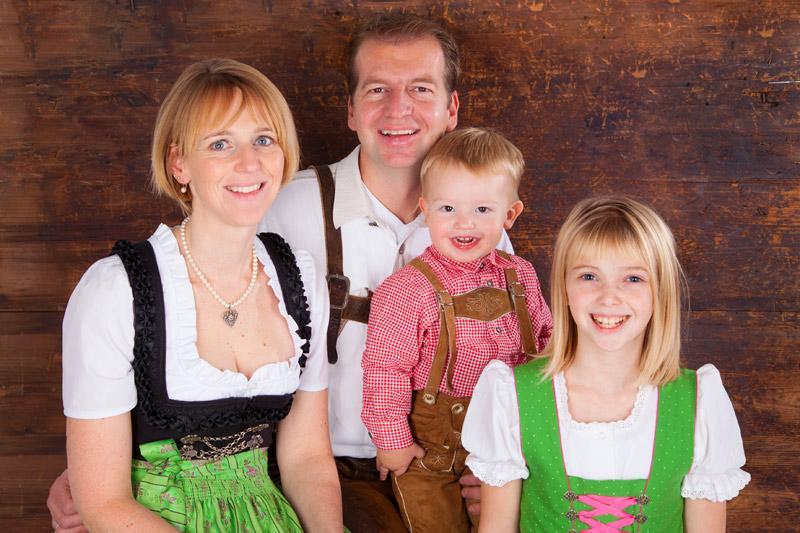 Ihre Gastgeber Familie Quehenberger