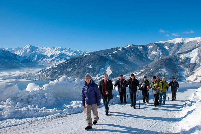 Winterwandern in Maishofen und Umgebung