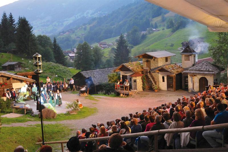 Sagenspiele Silbertal im Montafon / Vorarlberg