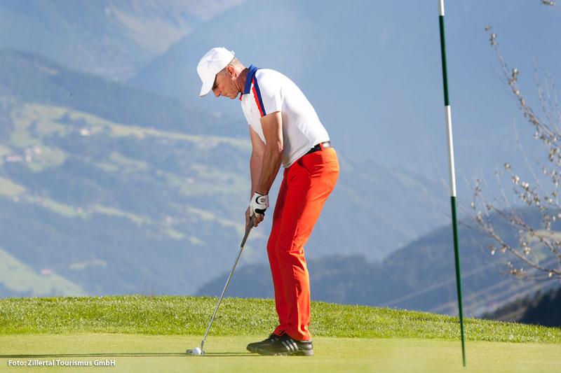 Golfurlaub im Zillertal