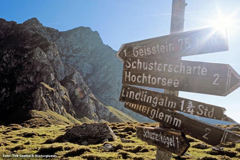 Wanderregion Saalbach-Hinterglemm