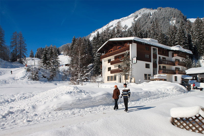 Winterurlaub in der Pension Birkenhof im Lechtal in Tirol