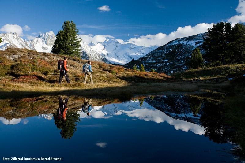 Herbstwandern in den Zillertaler Alpen