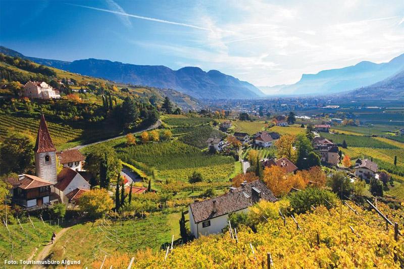 Herbsturlaub in Algund
