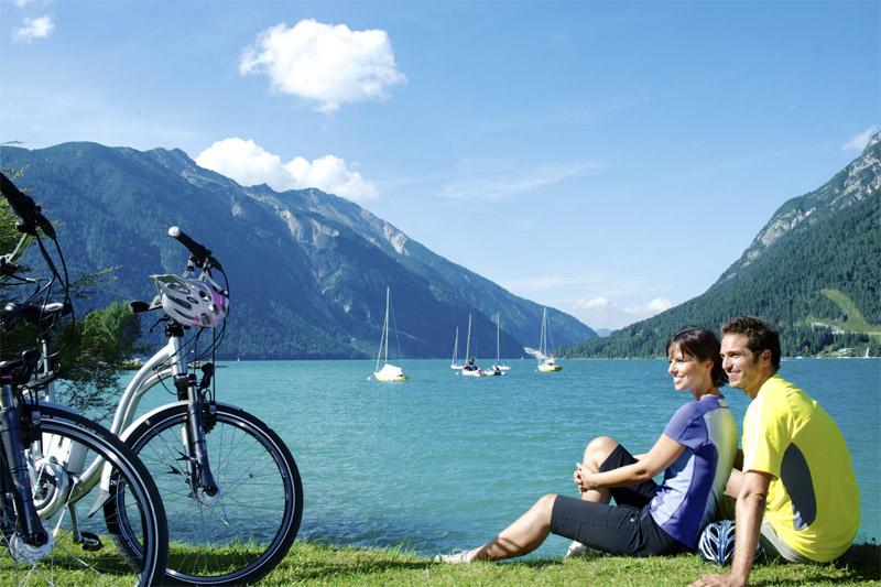 E-Biken am Achensee