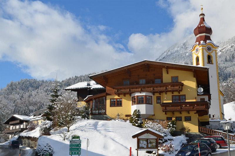 Winterurlaub im Landhotel Kirchenwirt im Salzburger Saalachtal