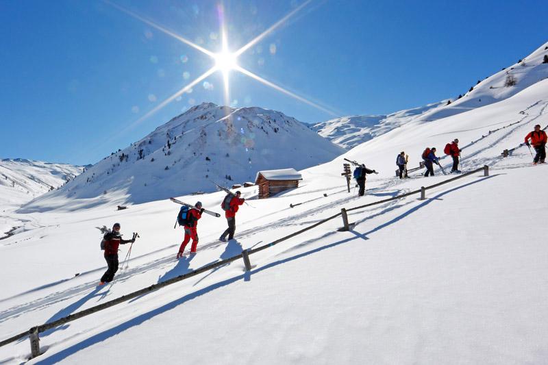 Skitouren gehen in Südtirol