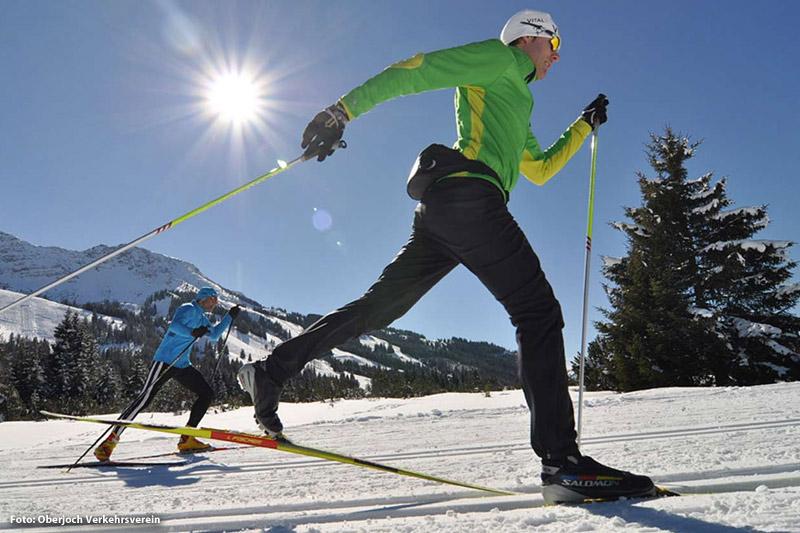Langlaufen in Oberjoch
