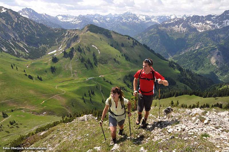 Wanderurlaub in Oberjoch