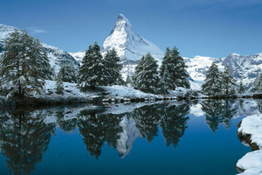 Das Matterhorn - Wahrzeichen der Schweiz