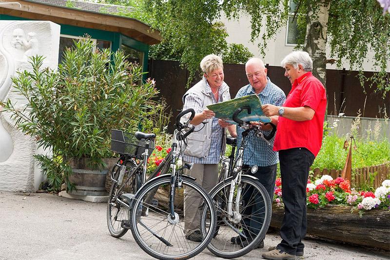 Radeln im Vinschgau