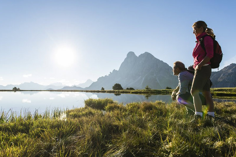 Sommerurlaub im Naturhotel Lüsnerhof - Wandern ist hier im Hotel weit mehr als nur eine gesunde Sportart, es ist Teil der Lebenseinstellung