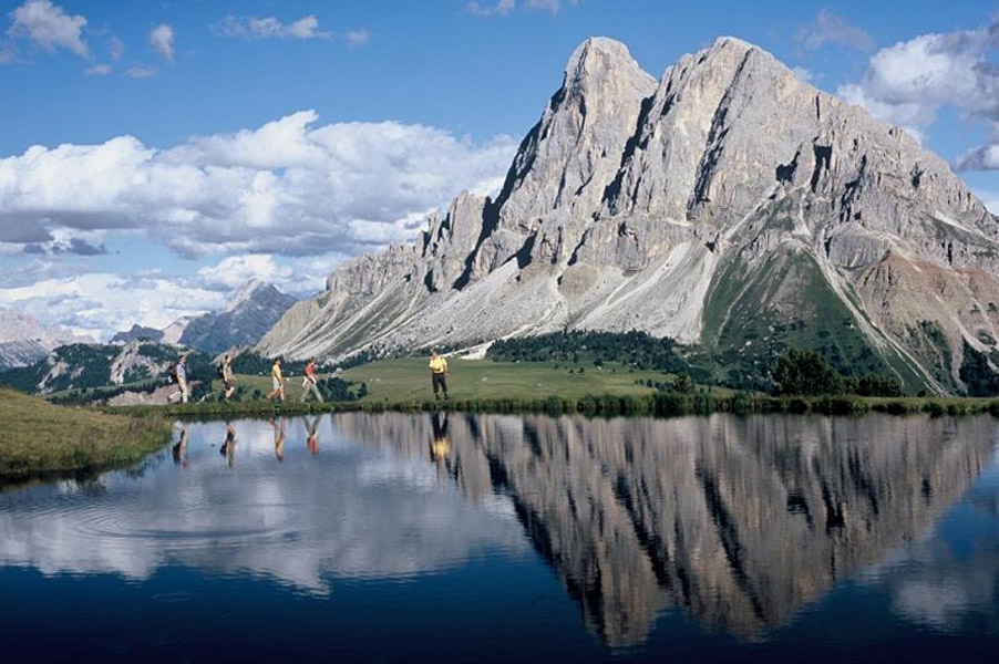 Sehr beliebt sind auch die Wanderwochen im Wellness-, Wander- und Naturhotel Lüsnerhof im Wandertal Lüsen in Südtirol