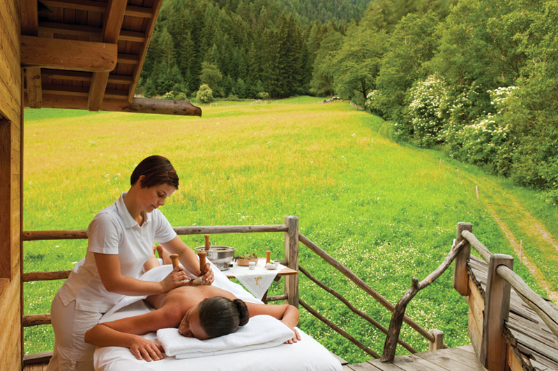 Wellnessurlaub in Südtirol