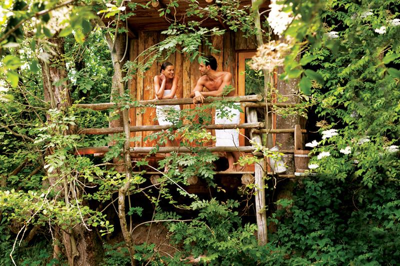 Der Wildromantik-Wellness-Parcours des Natur- und Wellnesshotels Lüsnerhof in Südtirol