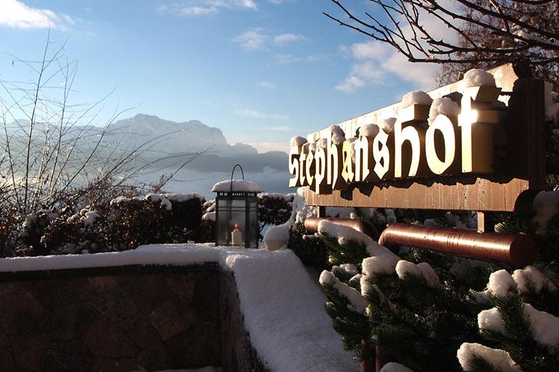 Ein Winterurlaub im Hotel Stephanshof in Villanders ist eher ein Urlaub für Nicht-Skifahrer