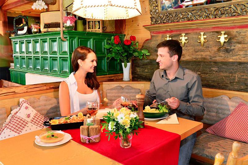 Restaurant mit bayerische Spezialitäten