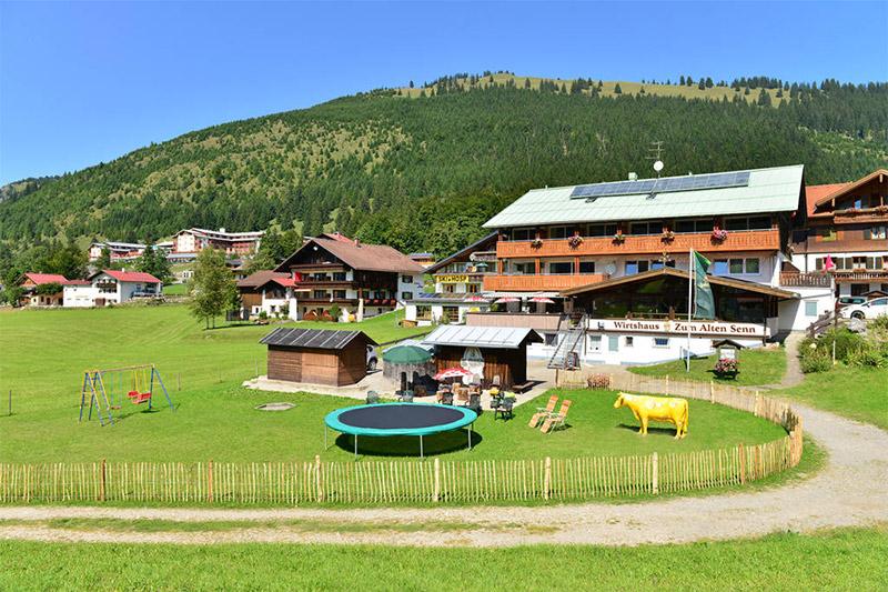 Sommerurlaub im Hotel Zum Senn in Oberjoch auf 1.200 m