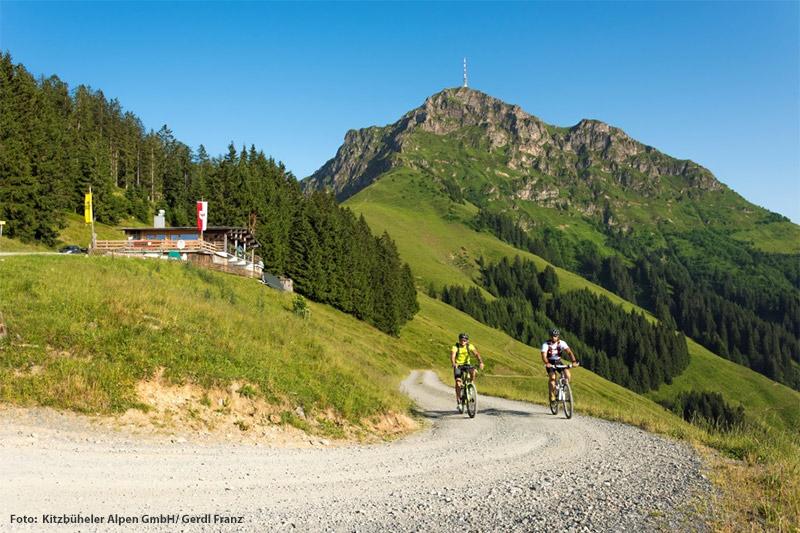 Mountainbiken und E-Biken um das Kitzbüheler Horn