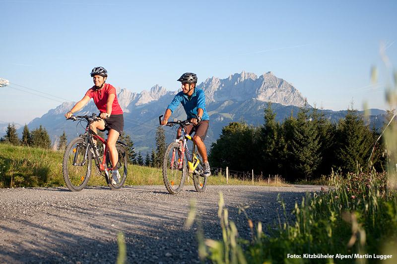 Radfahren und Moutainbiken in den Kitzbüheler Alpen