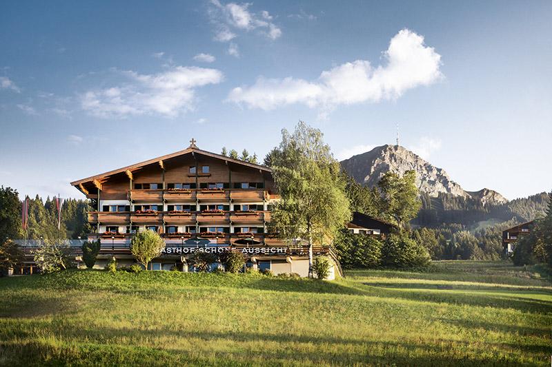 Sommerurlaub im  Hotel zur Schönen Aussicht in St. Johann in Tirol
