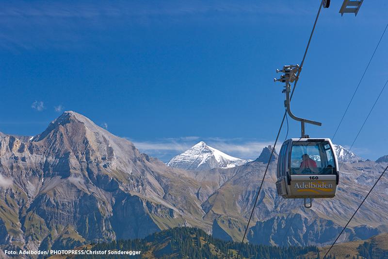 Freie Fahrt mit den Bergbahnen Adelboden