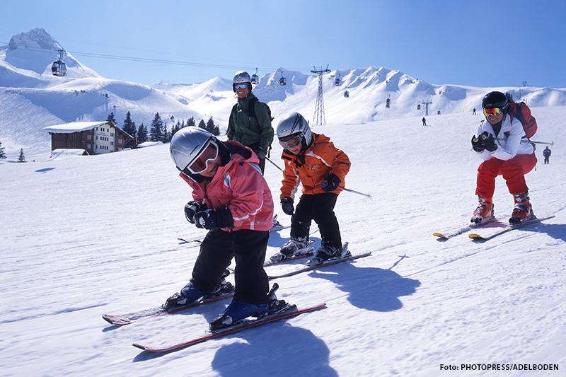 Familienskiurlaub in Adelboden